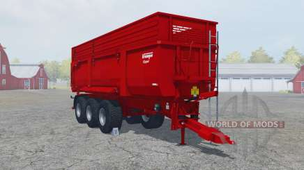 Krampe Big Body 900 S guardsman red для Farming Simulator 2013