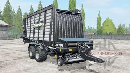 Bergmann Repex 34S black для Farming Simulator 2017