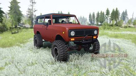 International Harvester Scout II для MudRunner