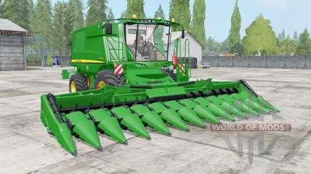 John Deere T600 dynamic hoses для Farming Simulator 2017