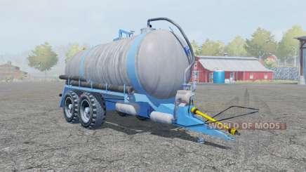 Fortschritt HTS 100.27 spanish sky blue для Farming Simulator 2013