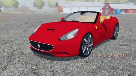 Ferrari California 2010 4WD для Farming Simulator 2013