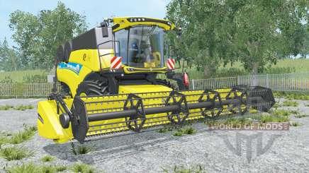 New Holland CR9.90 black & yellow rims для Farming Simulator 2015