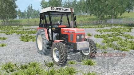 Zetor 7245 front loader для Farming Simulator 2015