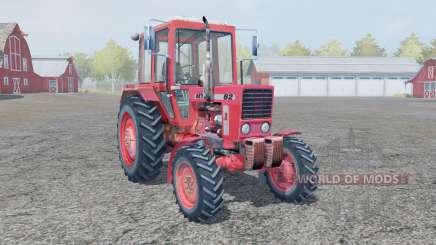 МТЗ-82 ярко-красный окрас для Farming Simulator 2013