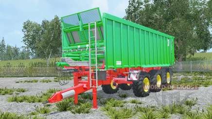 Kroger Agroliner TAW 30 with coupling trailer для Farming Simulator 2015