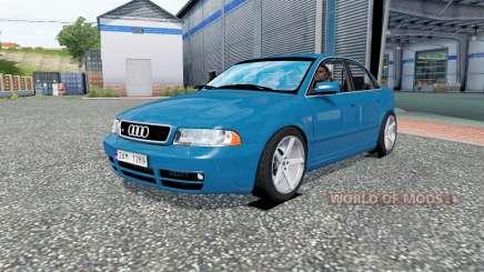 Audi S4 (B5) для Euro Truck Simulator 2