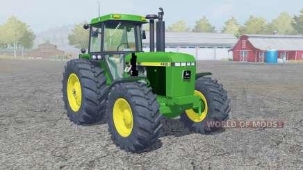 John Deere 4455 front loadeᶉ для Farming Simulator 2013