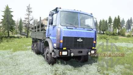 МАЗ-6317 для MudRunner
