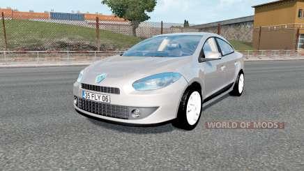 Renault Fluence 2012 v1.3 для Euro Truck Simulator 2