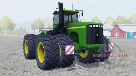 John Deere 9400 double wheels для Farming Simulator 2013