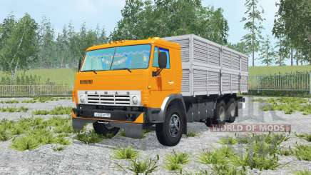КамАЗ-53212 и прицеп ГКБ-8350 для Farming Simulator 2015