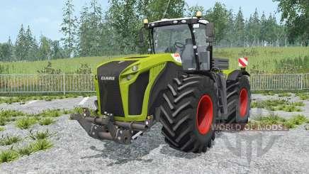 Claas Xerion 5000 Trac VC change wheels для Farming Simulator 2015