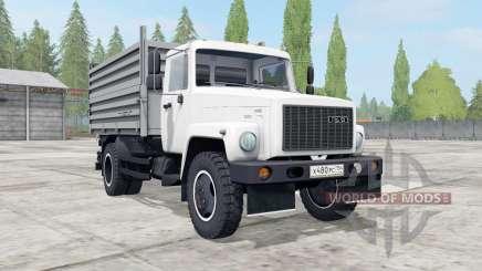 ГАЗ-САЗ-35071 белый окрас для Farming Simulator 2017