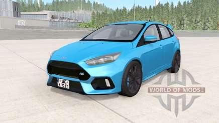 Ford Focus RS (DYB) 2016 для BeamNG Drive