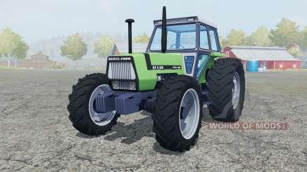 Deutz-Fahr AX 4.120 added wheels для Farming Simulator 2013