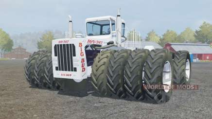 Big Bud 16V-747 extra wheels для Farming Simulator 2013