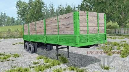 ОдАЗ-9370 малахитовый окрас для Farming Simulator 2015