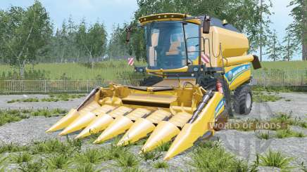 New Holland TC5.90 increased unloading rate для Farming Simulator 2015