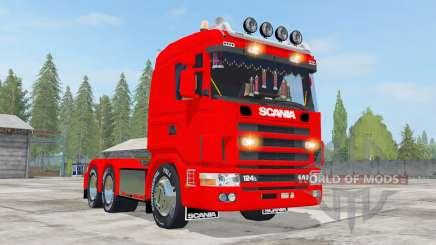Scania R124L 440 6x4 для Farming Simulator 2017
