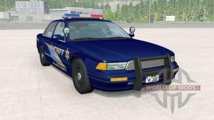 Gavril Grand Marshall Belasco Country Sheriff для BeamNG Drive