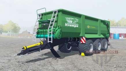 Krampe Bandit 800 shamrock green для Farming Simulator 2013