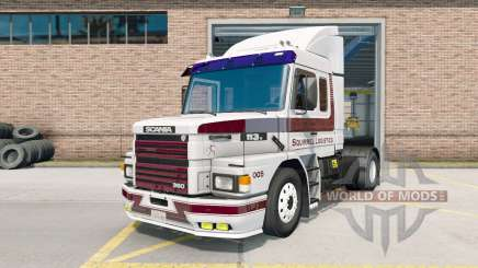 Scania T113H для American Truck Simulator