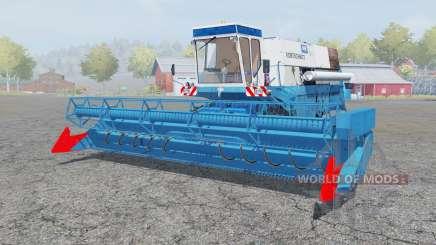 Fortschritt E 516 spanish sky blue для Farming Simulator 2013