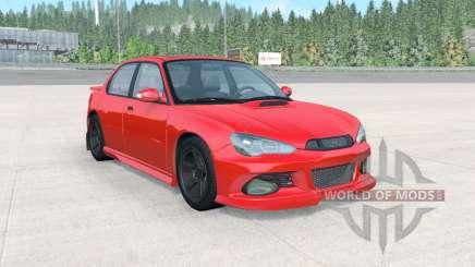 Hirochi Sunburst Sport RS v4.0.5 для BeamNG Drive