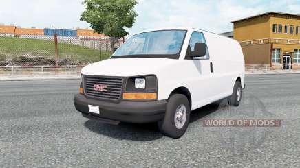 GMC Savana Van 2002 для Euro Truck Simulator 2