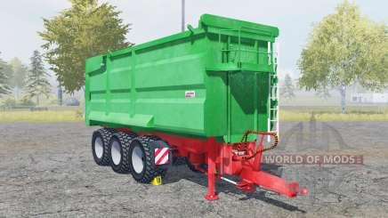 Kroger Agroliner MUK 402 munsell green для Farming Simulator 2013