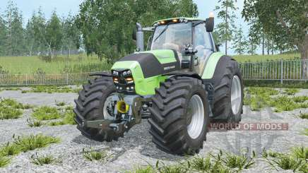 Deutz-Fahr 7250 TTV Agrotron chiptuning для Farming Simulator 2015