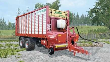 Pottinger Jumbo 6010 Combiline _ для Farming Simulator 2015