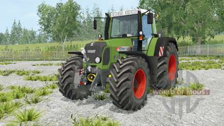 Fendt 820 Vario TMS many animation elements для Farming Simulator 2015
