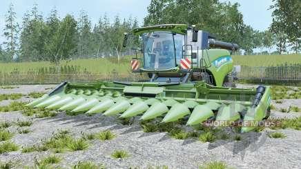 New Holland CR10.90 three cutters для Farming Simulator 2015