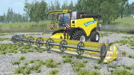 New Holland CR9.90 safety yellow для Farming Simulator 2015