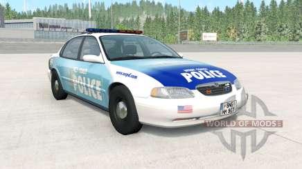 Ibishu Pessima 1996 West Coast Police v1.3.2 для BeamNG Drive