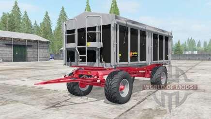 Kroger Agroliner HKD 302 wide tires для Farming Simulator 2017
