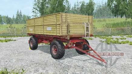 Krone Emsland ecru для Farming Simulator 2015