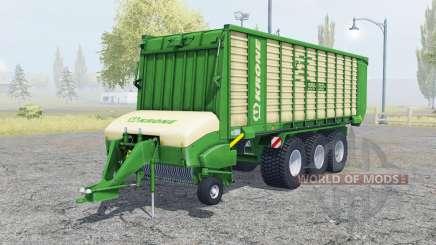 Krone ZX 550 GD north texas green для Farming Simulator 2013