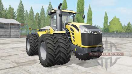 Challenger MT900E wheels options для Farming Simulator 2017