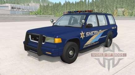Gavril Roamer Belasco Country Sheriff v1.2 для BeamNG Drive