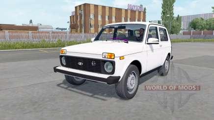 Lada 4x4 (21214) 2009 для Euro Truck Simulator 2