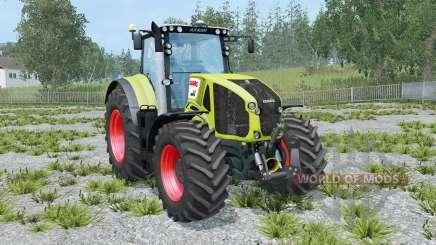 Claas Axion 950 hose attach для Farming Simulator 2015
