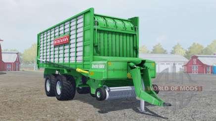 Bergmann Shuttle 900 K lime green для Farming Simulator 2013
