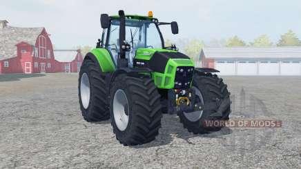 Deutz-Fahr 7250 TTV Agrotron neue reifen〡felgen для Farming Simulator 2013
