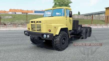 КрАЗ-260В свои колёса для Euro Truck Simulator 2