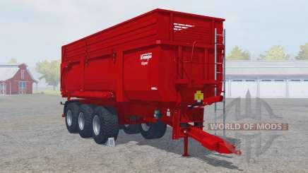 Krampe Big Body 900 S multifruit для Farming Simulator 2013