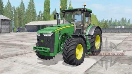 John Deere 8230-8370R для Farming Simulator 2017