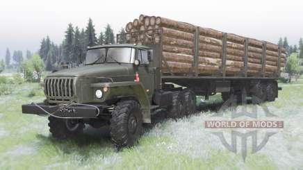 Урал-44202-0311-31 для Spin Tires